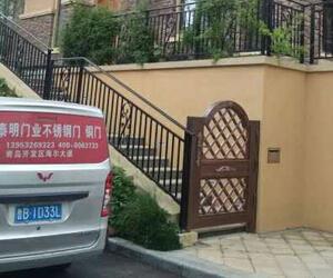 青岛别墅庭院铜门款式推荐及配置