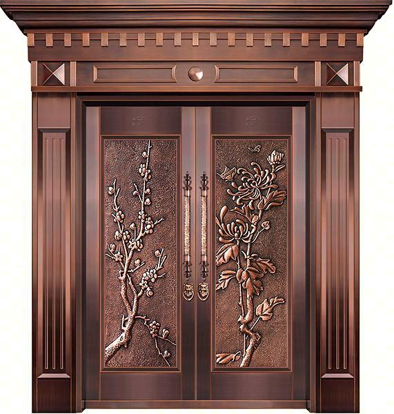 复古仿铜门的日常维护及注意事项