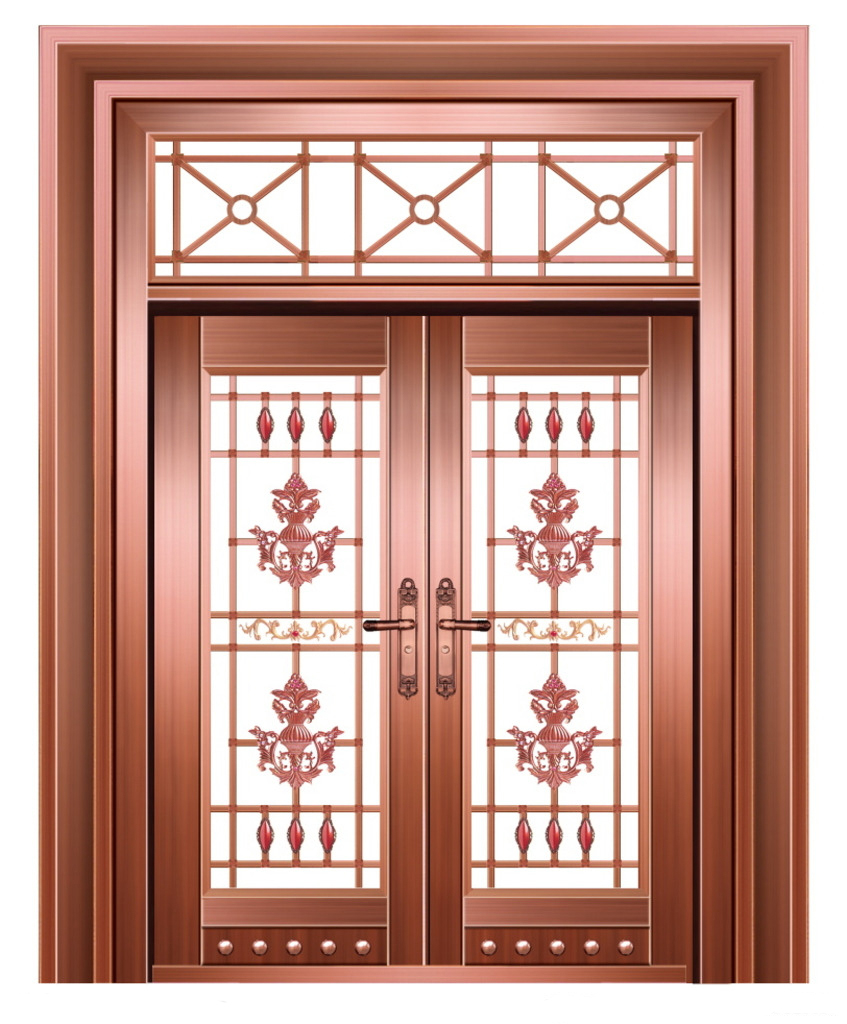 镀钛不锈钢仿铜门的制作原理及常用场所