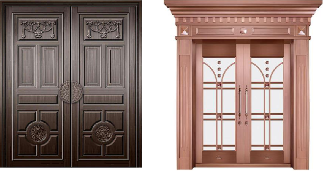 生活中常见的铜门都有哪些使用的场所?