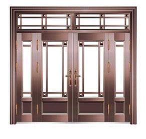 定制不锈钢仿铜入户门的人多吗?