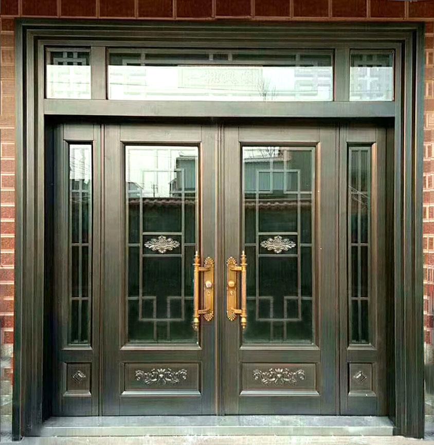 不锈钢仿铜门如何进行常规维护?