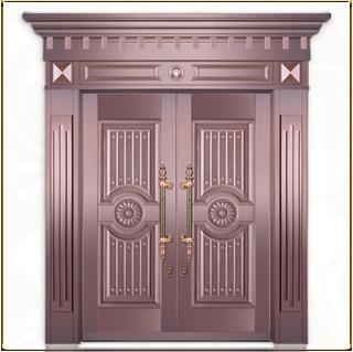 别墅铜门 TM-6006