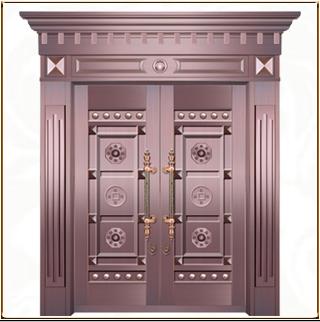 别墅铜门 TM-6009