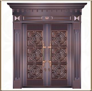 别墅铜门 TM-6015