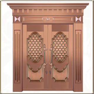 别墅铜门 TM-6019