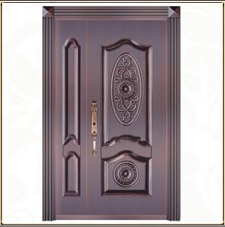 子母铜门 TM-6029