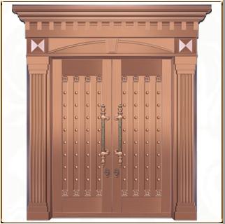 宗教铜门 TM-6035