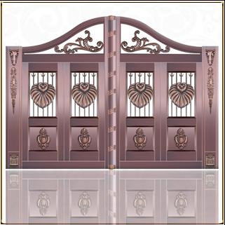 TM-6053 欧式庭院铜门