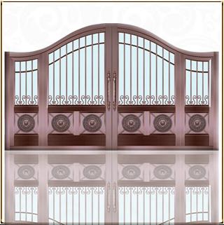私家庭院铜门 TM-6059