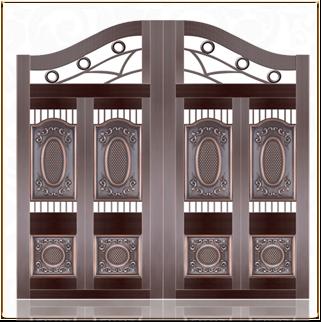 别墅庭院铜门 TM-6062