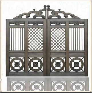 皇宫庭院铜门 TM-6071