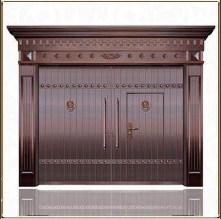 宗教铜门 TM-6073