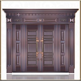 银行铜门 TM-6024
