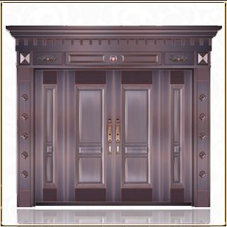 银行四开铜门 TM-6023