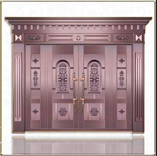 TM-6039 银行铜门
