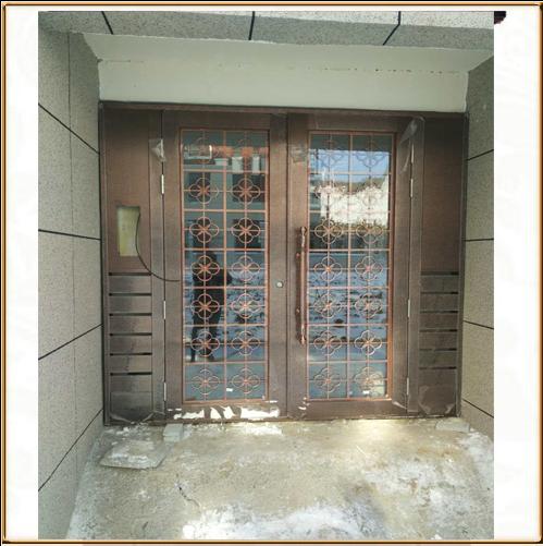 TM-9408 不锈钢仿铜门