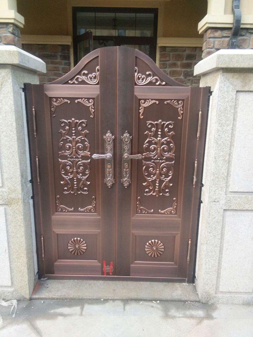 欧式别墅庭院铜门 TM-7011
