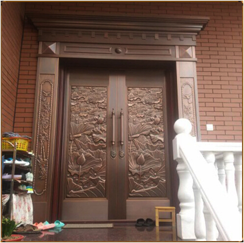 TM-6002 别墅铜门